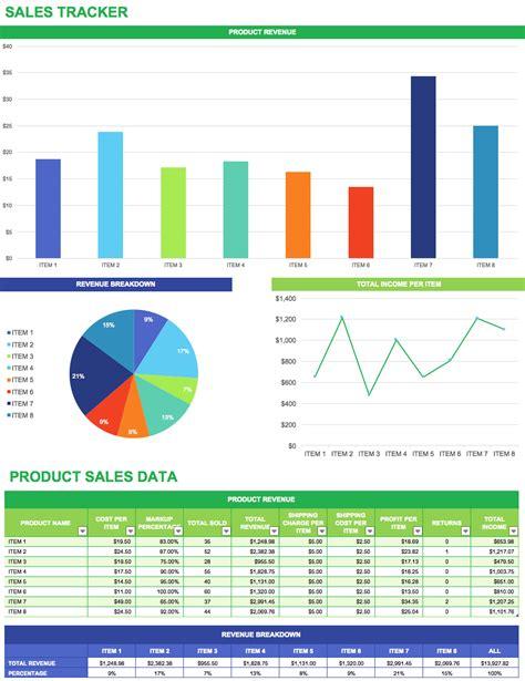 sales prospect tracking spreadsheet  google spreadshee