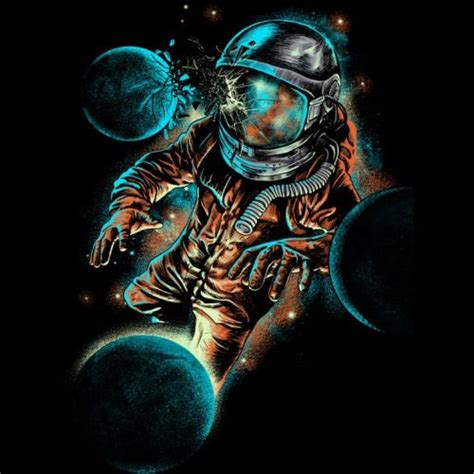 500x500px Psychedelic Astronaut Wallpapers