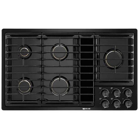 jgdgb jenn air  downdraft gas cooktop black  black airport home appliance