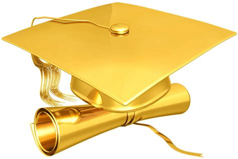 Gold Cap Diploma (psd)