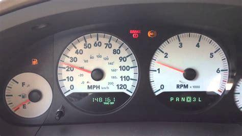 2002 Dodge Grand Caravan Problems by 2005 Dodge Grand Caravan Instrument Panel Problem