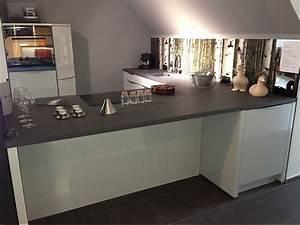 Nolte Küchen Fronten : nolte musterk che musterk che nolte nova lack hellgrau mit compositestein platten grau ~ Orissabook.com Haus und Dekorationen