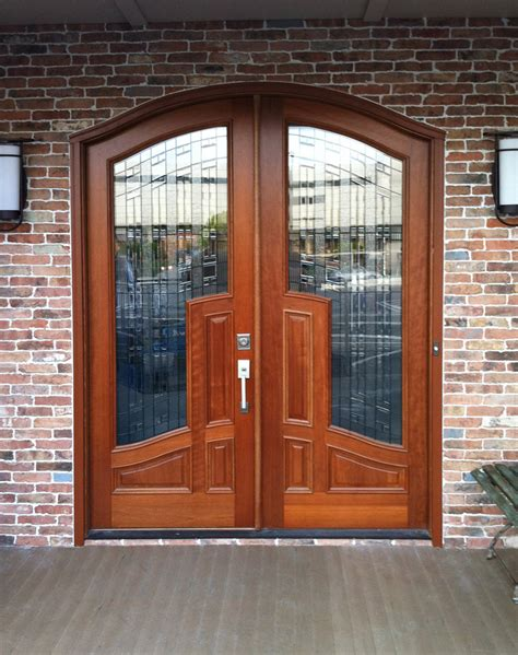 Home Side Door by Mahogany And Glass Arch Front Door Home