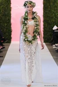 Oscar de la renta bridal 2015 wedding dresses wedding for Bikini wedding dress