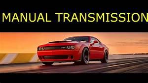 Dodge Demon Srt Manual Transmission Version