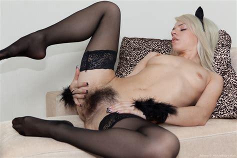Hirsute Porn Model Selena Loves Her Costume