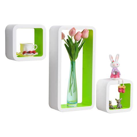 cube regal holz 3er set wandregal cube cd regal mdf holz h 228 ngeregal b 252 cherregal lounge 177 ebay