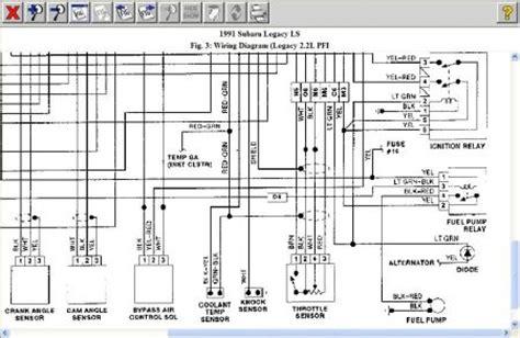Subaru Fuel Wiring Diagram by 2008 Subaru Legacy Wiring Diagram Wiring Diagram Pictures