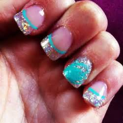 Cute teal nails car tuning