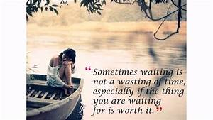 waiting for lov... Waiting Floyd Quotes