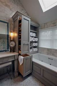 46, Charming, Small, Bathroom, Storage, Remodel, Ideas