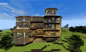 HUGE HOUSE Map For Minecraft PE 0130