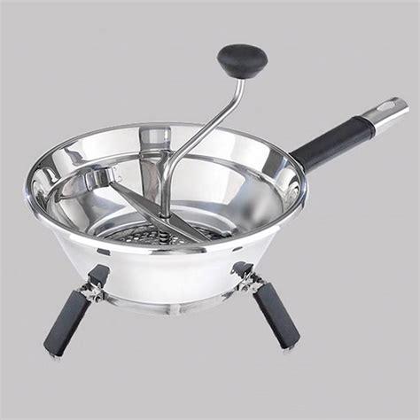 passe vite cuisine moulin à légumes passe vite ø 19 cm moha acheter sur greenweez com