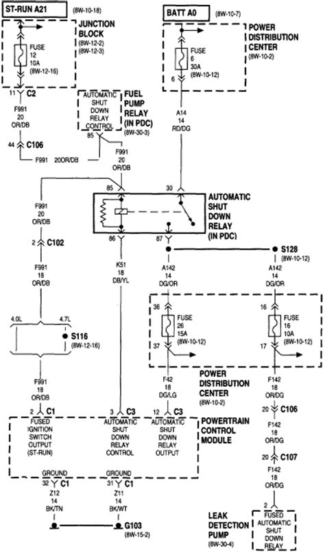 1999 Jeep Wrangler Wiring Schematic by Gt Circuits Gt 1999 Jeep Fuel Wiring Diagram