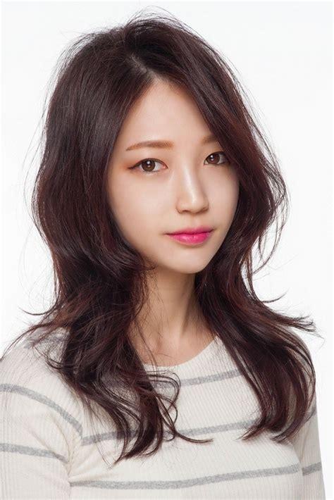 beautiful style hair korean fashion trend