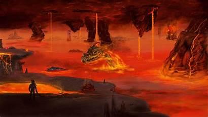 Underworld Terraria Background Steam Trading Fantasy Card