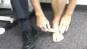 Taping Your Own Plantar Fascia