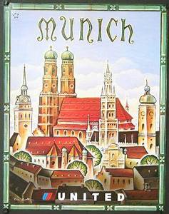 Retro Möbel München : united munich by tim zeltner airline posters us carriers pinterest munich travel ~ Markanthonyermac.com Haus und Dekorationen