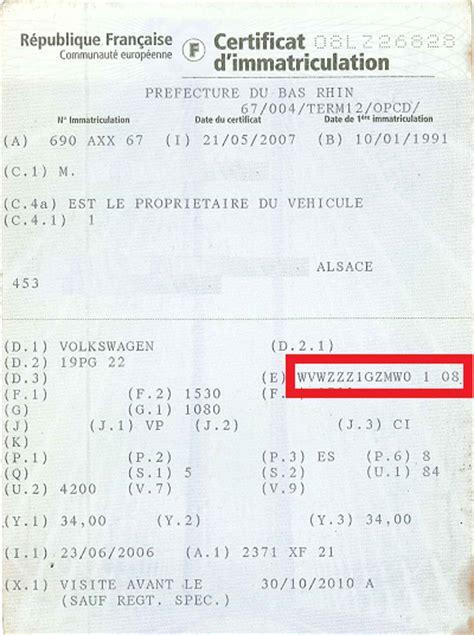 identifier un vehicule avec numero de serie techniqueg60 forum technique g60 sujet 3 l identification de la golf g60 1 1