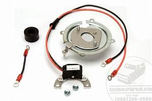 Pertronix Ignitor Kit  6 Cylinder Late Style Vacuum Advance Delco Distributor