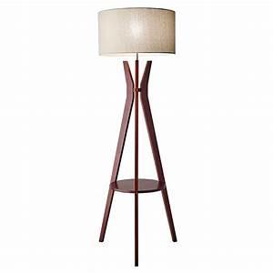 modern floor lamps baxter shelf floor lamp eurway With shelf floor lamp india