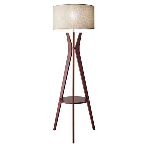 Modern Floor Lamps   Baxter Shelf Floor Lamp   Eurway