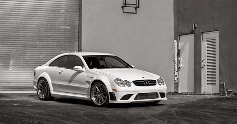Mercedes Amg Clk 63 Black Series Adv 1 Wheels by Mercedes Clk63 Amg Black Series On Adv 1 Wheels