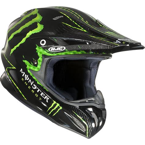 hjc motocross helmets hjc rpha x nate adams monster energy replica motocross