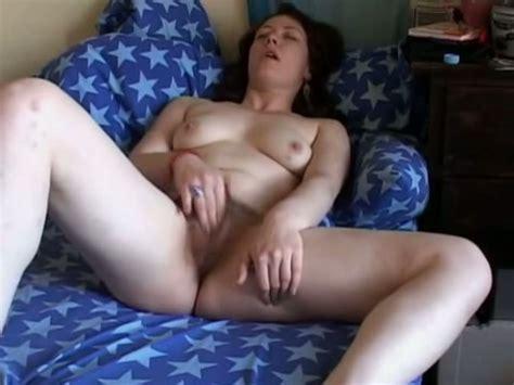 Watch My Lustful Girlfriend Rubbing Her Hairy Pussy Video