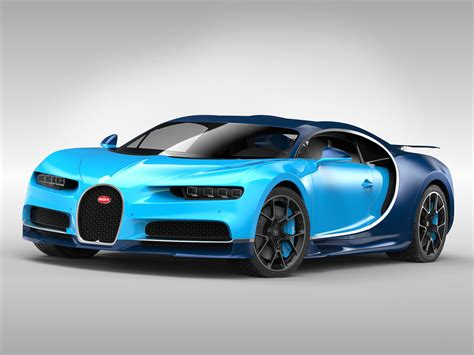 As the successor to the. Bugatti Chiron 2017 hypercar 3D | CGTrader
