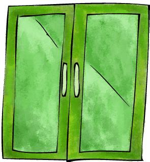 what can go through the green glass door the secret to green glass doors the gal