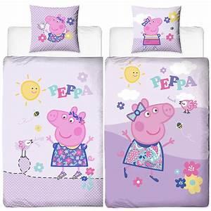 Bettwäsche Peppa Wutz : peppa wutz pig happy bettw sche biber flanell ~ Watch28wear.com Haus und Dekorationen