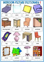 bedroom  vocabulary spanish vocabulary