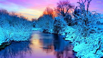 Winter Scenic Background Resolution Desktop Wallpapers Res