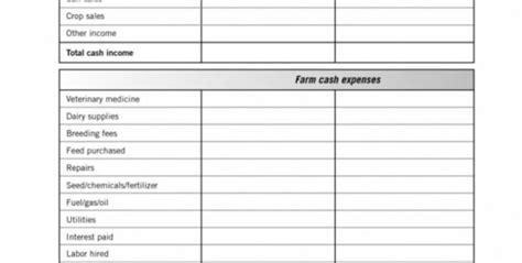 farm expense spreadsheet excel spreadsheet downloa farm