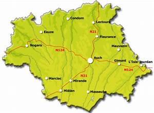 Carte Du Gers Détaillée : camping gers annuaire du camping gers 32 r gion midi pyr n es ~ Maxctalentgroup.com Avis de Voitures