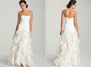 christian wedding dresses christian siriano bridal nordstrom wedding dresses christian siriano ruffle gown