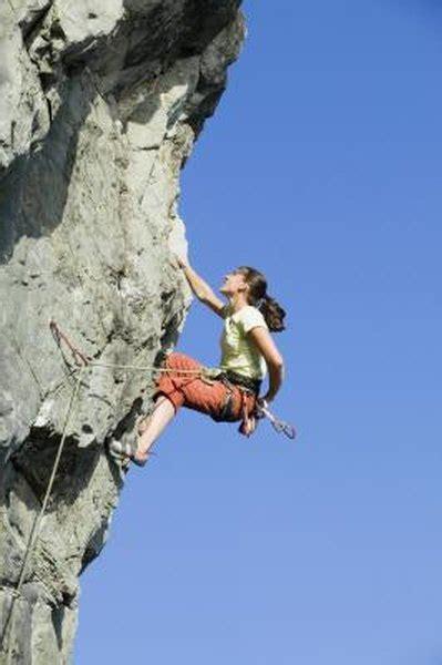 Rock Climbing Conditioning Exercises Woman