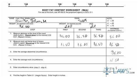 learn how to fill the da form 5500 fat content worksheet youtube