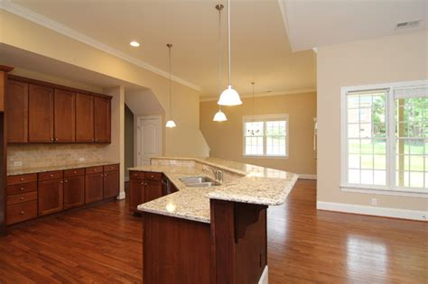 angled kitchen island designs angled island layout traditional kitchen raleigh 4068