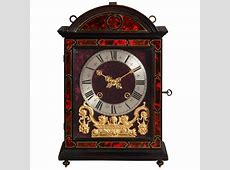 A beautiful French Louis XIV 'Religieuse clock', signed P
