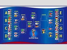 Découvrez le calendrier complet de la Coupe du monde 2018