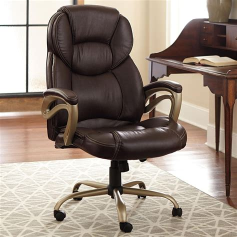 brylanehome wide memory foam office chair office