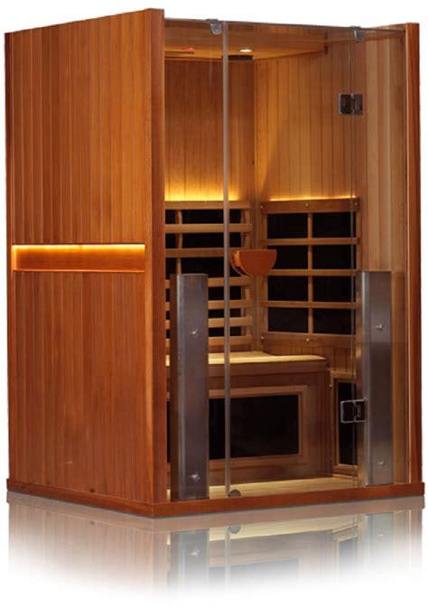 2 mann sauna sanctuary 2 person infrared sauna free shipping