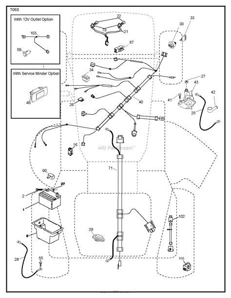 husqvarna ythv    parts diagram