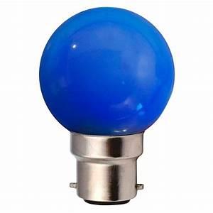 Ampoule Couleur B22 : ampoule incandescence b22 sph rique 15w bleu ariane ~ Edinachiropracticcenter.com Idées de Décoration