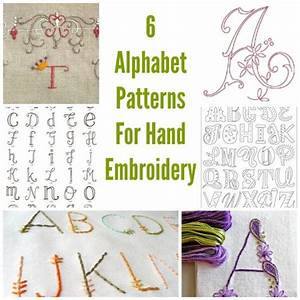 hand embroidery alphabet wwwpixsharkcom images With best embroidery software for lettering