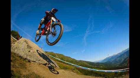 Downhill Mountain Bike Action