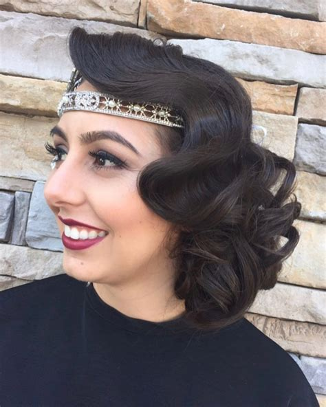 Easy 20s Hairstyles by Vintage Glam 15 Roaring 20s Hairstyles