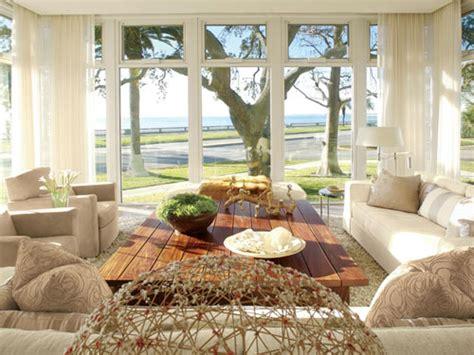 sunroom ideas transitional living room